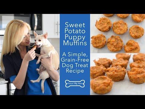 Sweet Potato Puppy Muffins: Grain-Free Dog Treat Recipe | Proud Dog Mom