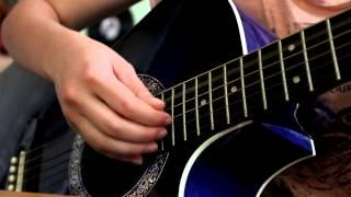Как играть песню Совы нежные (видеоурок)