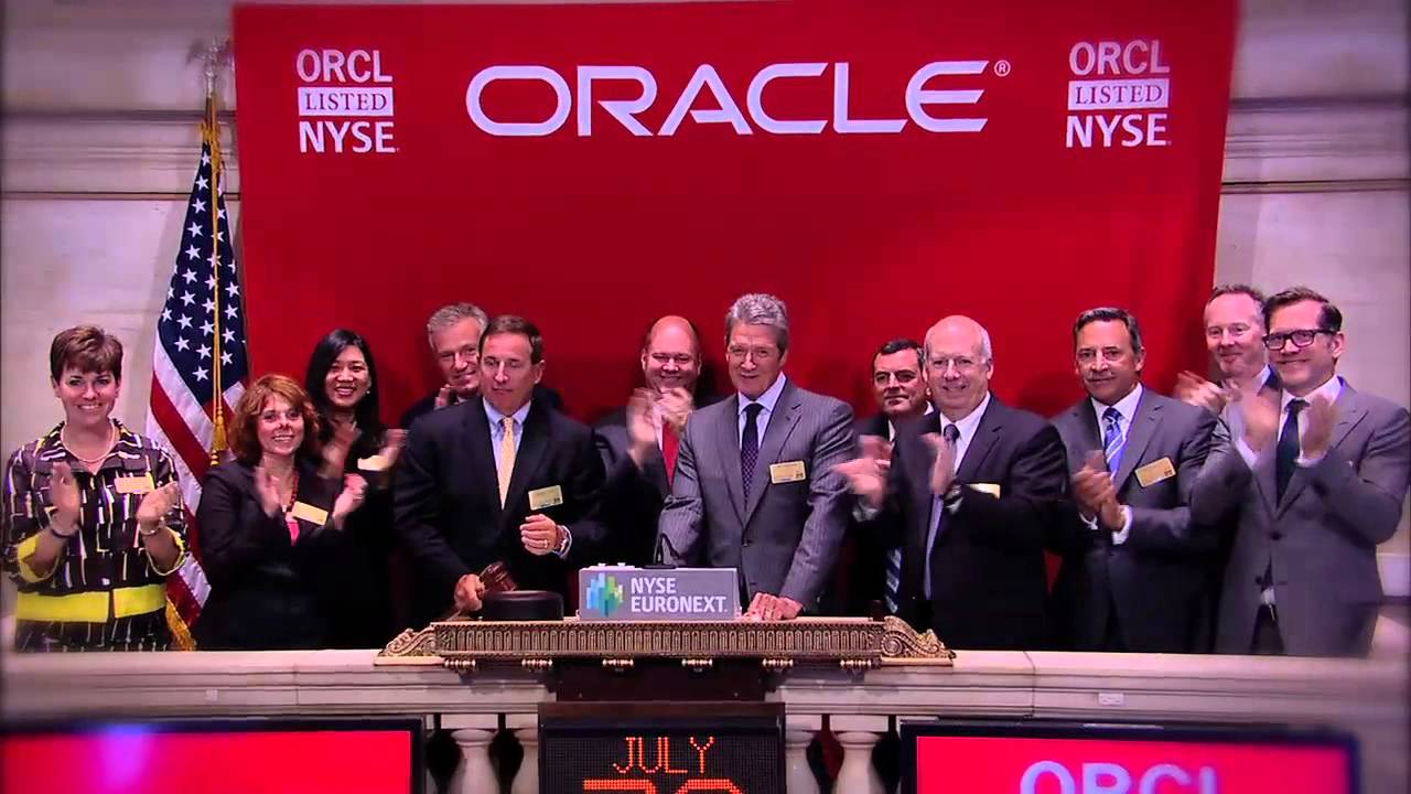 Oracle Transfers Its Stock Listing To The Nyse Youtube