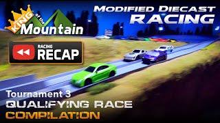(KotM RECAP) Qualifying Race Compilation - Tournament 3 | Diecast Car Racing