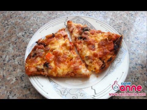 Bayat Ekmek Pizzası Videosu