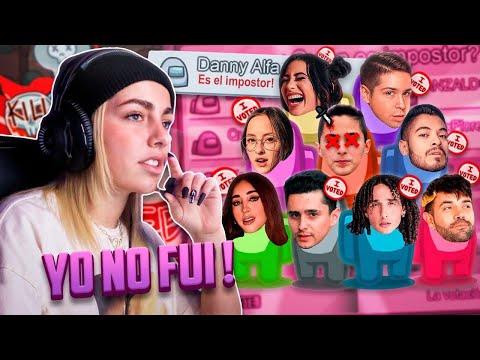 Jugando Among Us con mis Amixes | Mi Primer GamePlay | Danny Alfaro