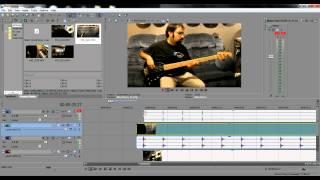 How To Make Split Screen Music Videos - Sony Vegas Tutorial with Richie Castellano