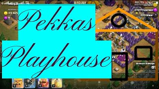 Clash of clans - Pekkas Playhouse town hall 8