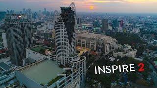 DJI INSPIRE 2 X4S LOW LIGHT CITY FLIGHT @ 4K FOOTAGES