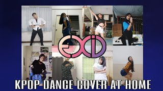 [KPOP DANCE COVER AT HOME] EXID(이엑스아이디) - 'Medley Songs'   S…