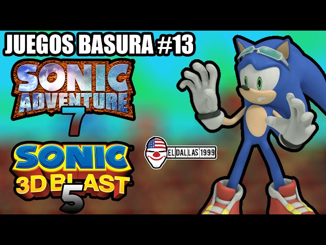 JUEGOS BASURA: Sonic Adventure 7 / Sonic 3D Blast 5 (Game Boy Classic / Color) - Loquendo