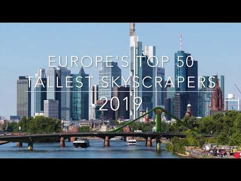 Europe's TOP 50: tallest skyscrapers 2019