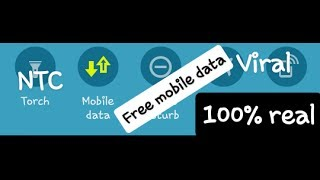 how to use free internet in ntc sim