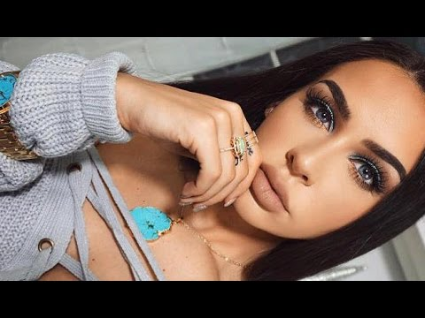 GET READY WITH ME: TURQUOISE EYES & CHIT CHAT
