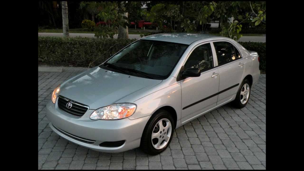 2008 Toyota Corolla CE Silver For Sale Auto Haus of Fort Myers FL
