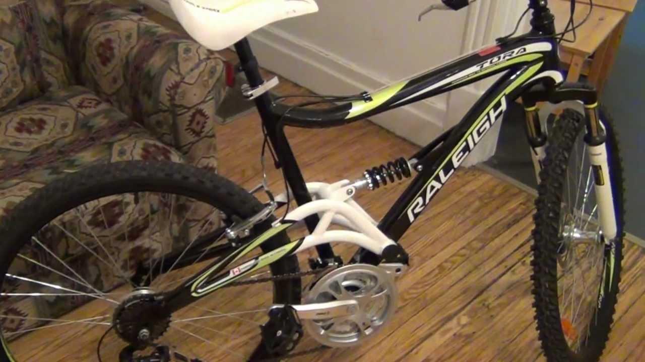 My Raleigh Bike My New One Youtube