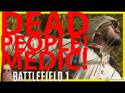 SAVING LIVES AS A MEDIC ON BATTLEFIELD 1 🔫 #19 | PS4 LIVE | Let's Play | PS4 LIVE | DRINKING STREAM