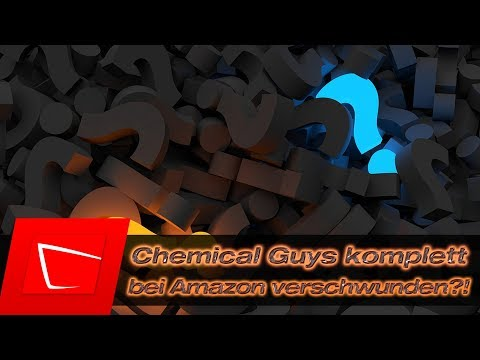 Was ist passiert? Chemical Guys bei Amazon gelöscht? verschwunden? Datenbankfehler? Absicht?