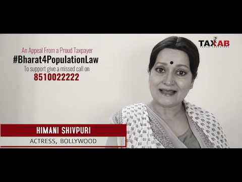Himani Shivpuri for #Bharat4PopulationLaw