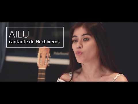 Hechixeros   Entrevista a Ailu en el back de grabación