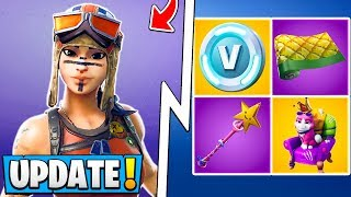 *ALL* Fortnite 8.10 Skins! | Renegade Raider, New Wraps, Emotes, Styles!