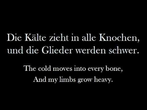 Eisbrechers 'Eiszeit' (English Lyrics)