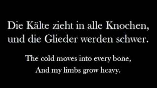 Eisbrechers 'Eiszeit' (English Lyrics)