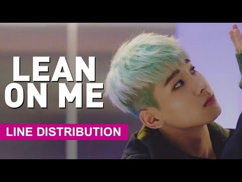[Line Distribution] SEVENTEEN - Lean On Me/Expectation (기대)