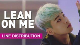 [Line Distribution] SEVENTEEN - Lean On Me/Expectation (기대) mp3