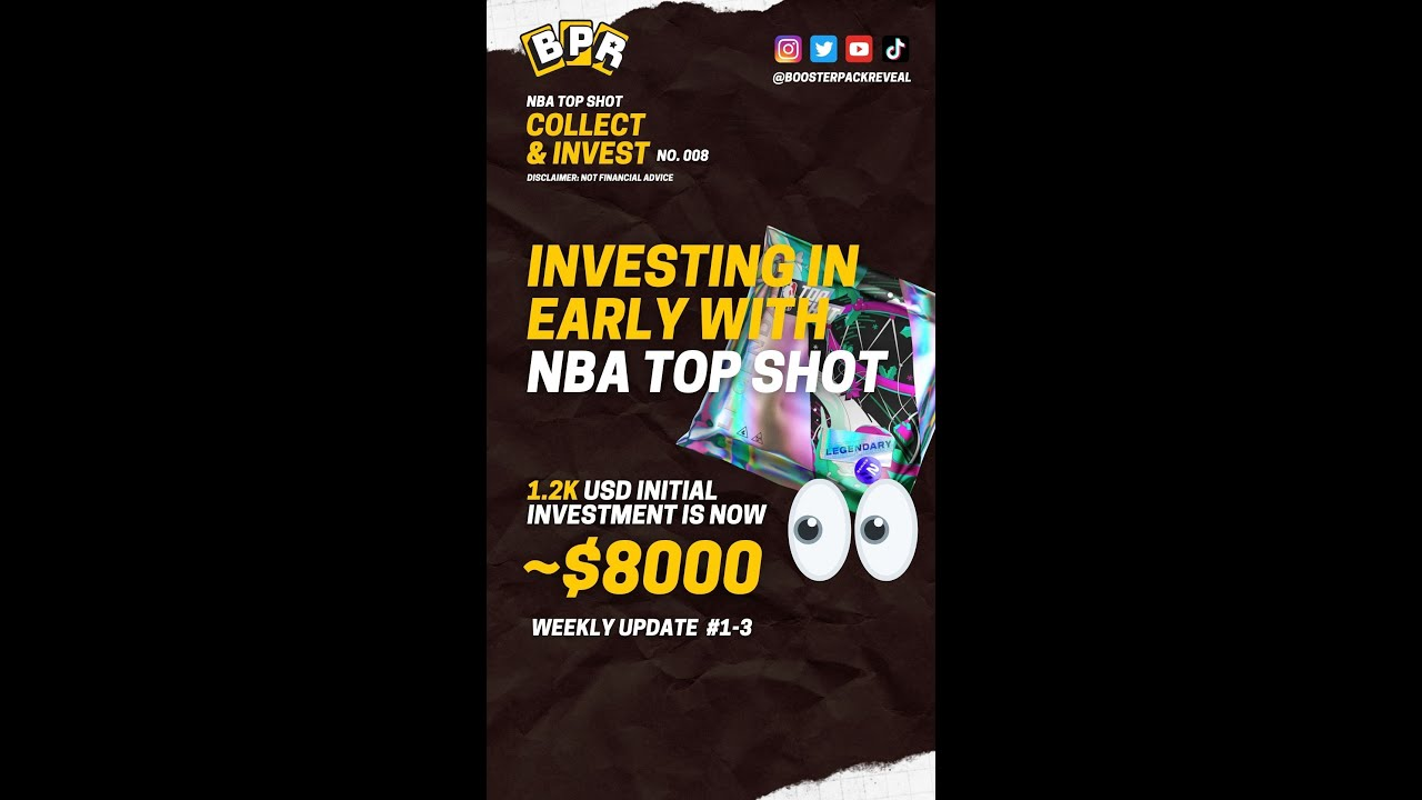 Investing In Early With Nba Top Shot Weekly Portfolio Update Youtube