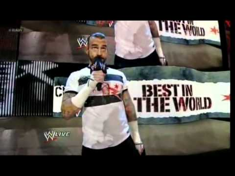 CM Punk sings the Goodbye Song to John Laurinaitis (HQ)