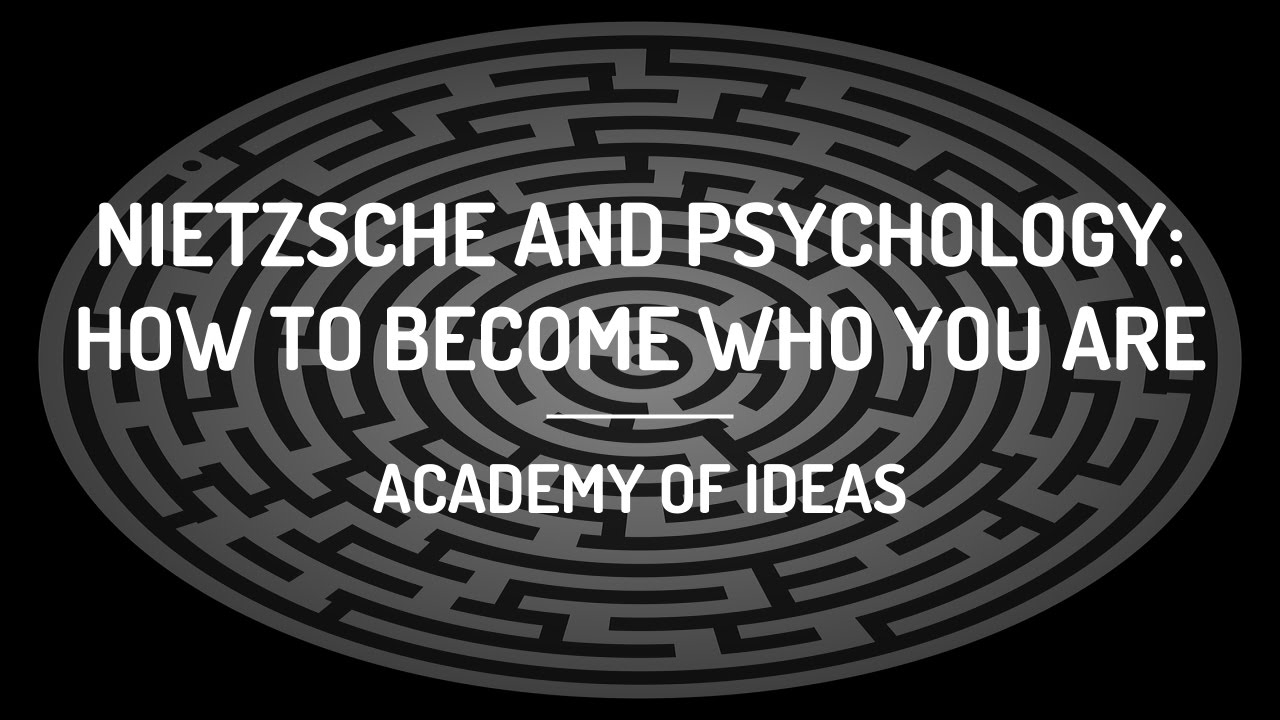 Citation Nietzsche Chaos : Nietzsche and psychology: how to become who you are