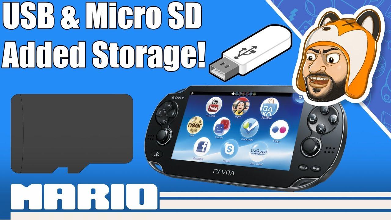 How to Setup StorageMgr for PS Vita & PSTV | SD2Vita & USB Storage Install