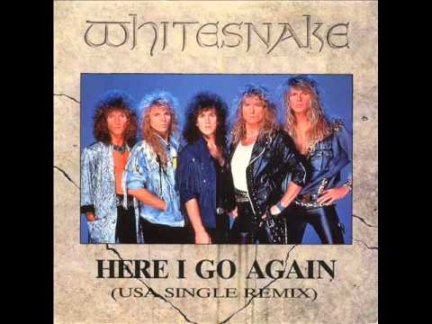 WHITESNAKE - here i go again (best version)