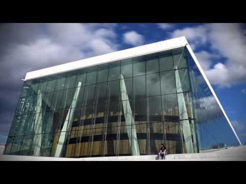 Time-lapse of the Oslo Opera House