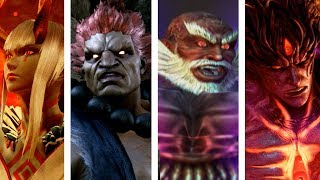 Tekken: All Bosses Intros/Win & Lose Poses (Tekken 1 to Tekken 7)
