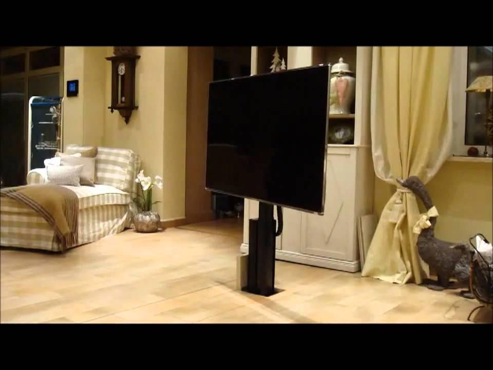 monlineslift der unsichtbare stauraum f r den tv youtube. Black Bedroom Furniture Sets. Home Design Ideas