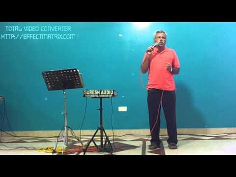 Nagarajan Whistling the song Sangeedha megam