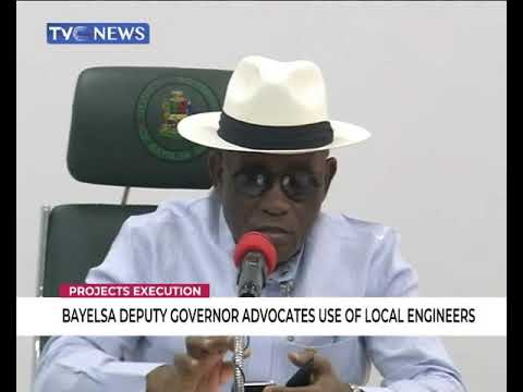 Bayelsa deputy governor advocates use of local engineers