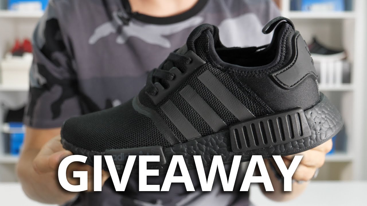 WIN adidas NMD R1 Triple Black - FREE GIVEAWAY