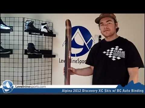 Alpina Discovery XC Skis W BC Auto Binding YouTube - Alpina discovery skis