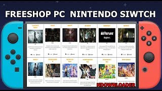 Nintendo switch freeshop