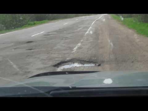 Участок дороги Р243 Мантурово-Кострома.