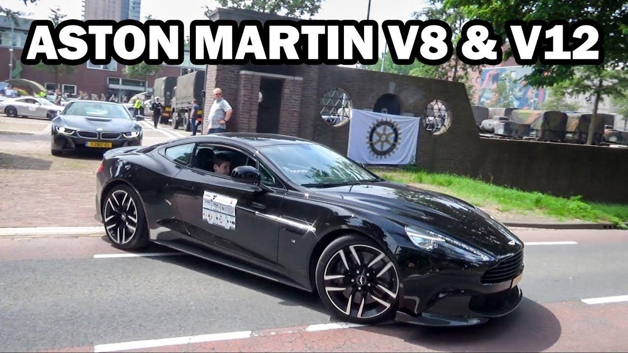 Best Of Aston Martin Sounds Compilation V8 And V12 Youtube