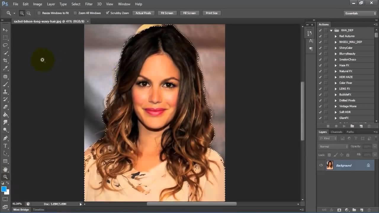 Tách nền trong Photoshop CS6   Hướng dẫn
