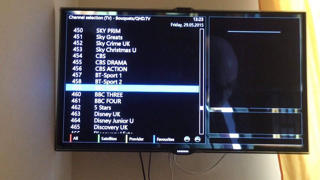 IPTV on Enigma2 Dreambox