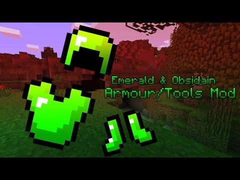 Minecraft|| Emerald & Obsidain...