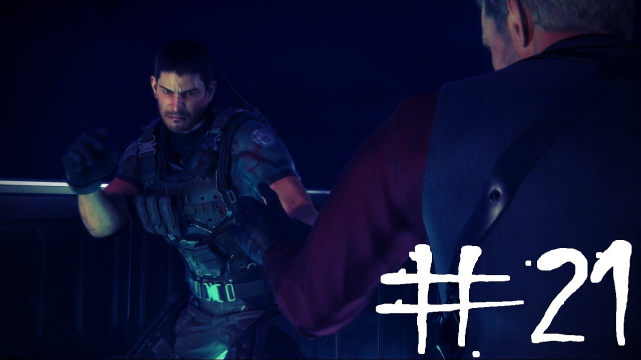 Resident Evil Vendetta Movie Clip 21 Chris Redfield Vs Glenn