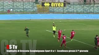 Eccellenza Girone A Grosseto-S.Gimignano 0-1