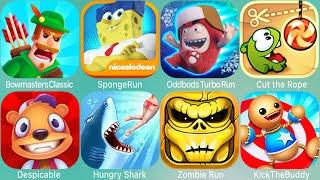 Bouncemasters,Rail Rush,Axe Climber,Miraculous,OddbodsTurboRun,Cut the Rope,Mr Bean ATW,Bowmasters