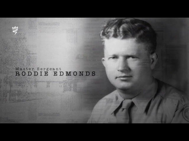 Honoring Righteous Among the Nations Master Sargeant  Roddie Edmonds