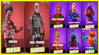 10 BEST EPIC SKINS In FORTNITE! (YOU MUST BUY THESE SKINS!)