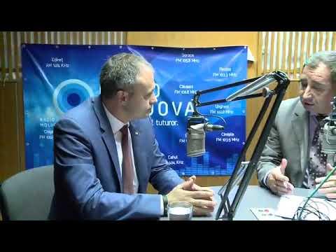 """Președintele Andrian Candu la emisiunea """"Loc de Dialog"""" de la Radio Moldova."""