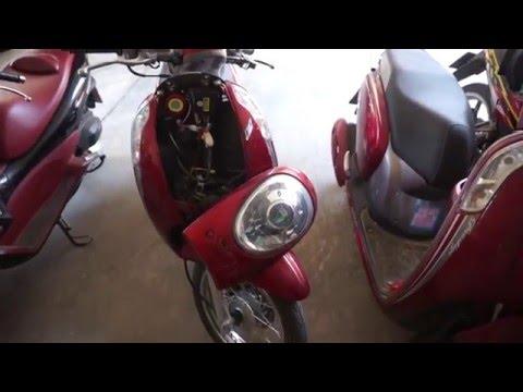 รถมอเตอร์ไซค์ Honda Scoopy i  กันขโมยรถ.com